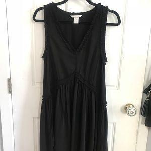 H&M black swing dress